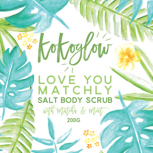Love You Matchly Body Scrub