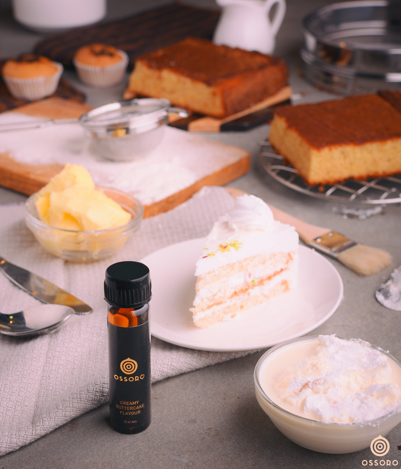 Creamy Buttercake - Get baking with Ossoro!