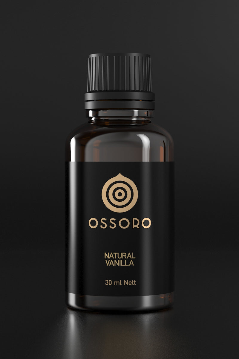 Ossoro Natural Vanilla (Pure Vanilla Extract)