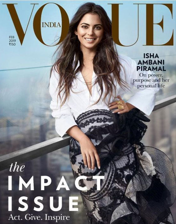 VOGUE Magzine - The Impact Issue