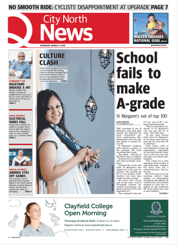 City North News Front Page