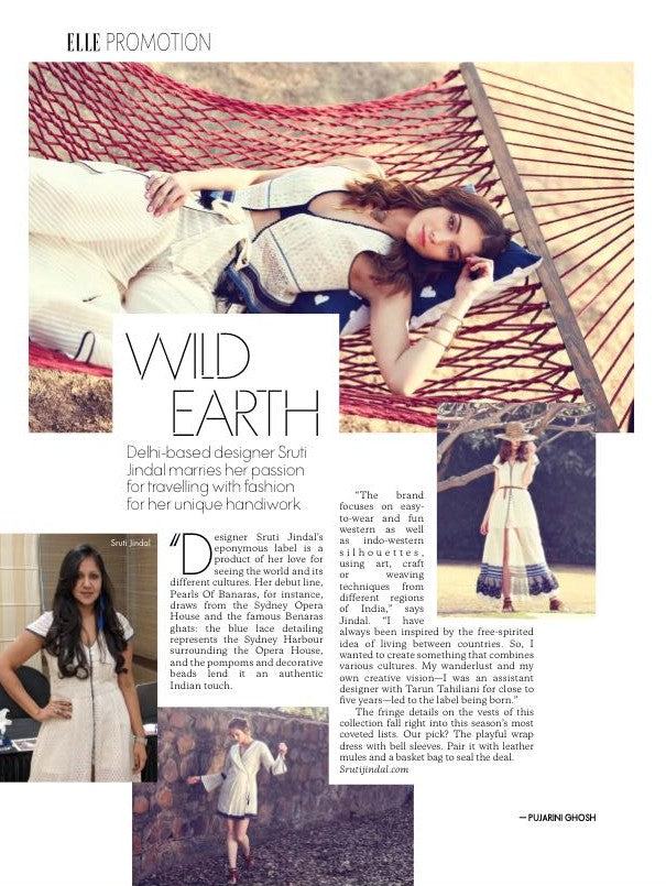 Elle India Sruti Jindal Wild Earth