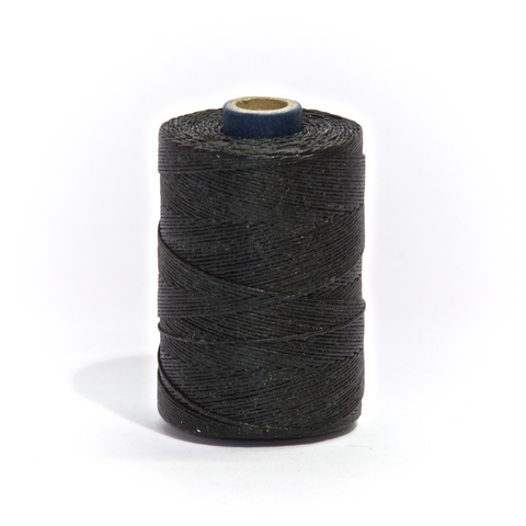 Black Waxed Bagpipe Hemp 2 oz 1