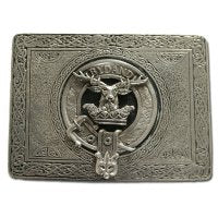 Clan Crest Belt Buckle 1