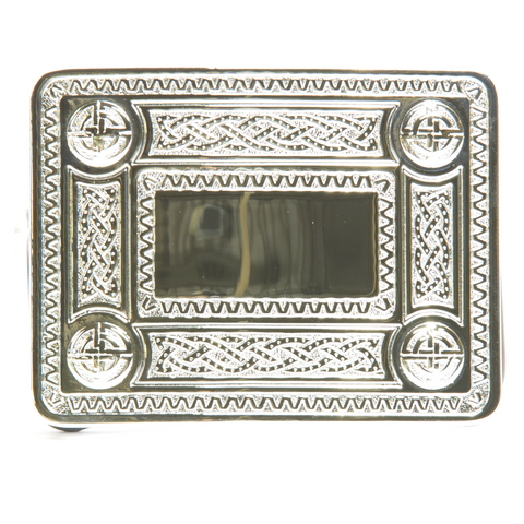 Celtic Pattern Belt Buckle 1