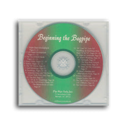 Beginning the Bagpipe - CD - Sandy Jones Tutor 1