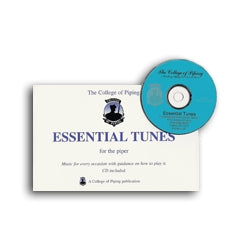 Essential Tunes Book & CD - Volume 1 - College of Piping