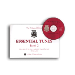 Essential Tunes Book & CD - Volume 2 - College of Piping