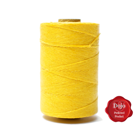 Yellow Waxed Bagpipe Hemp - 2 oz