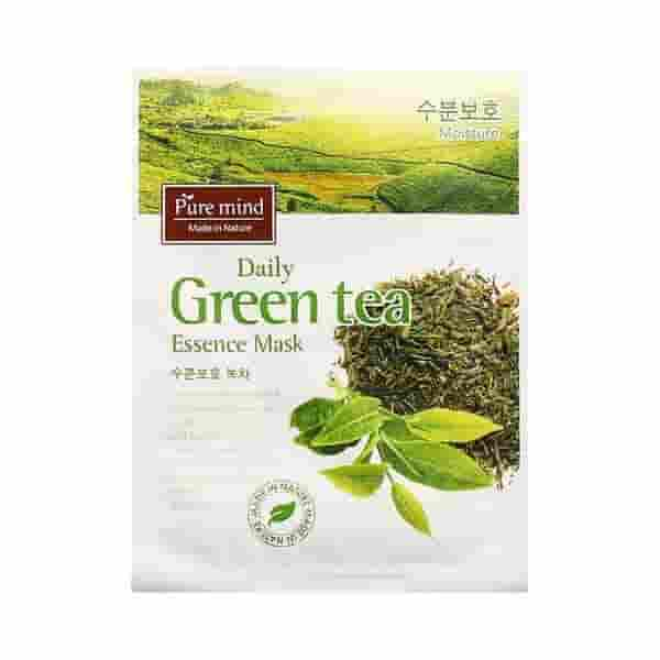 Pure Mind Greentea Sheet Mask