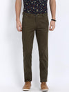 t-base men's olive slim tapered chinos