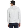 t-base Off-White Solid Hooded Sweatshirt