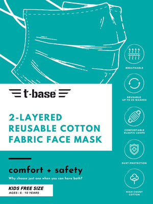 t-base Kids Face Mask
