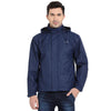 Airforce Blue Waterproof Rainwear Jacket - tbase