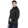 Black Waterproof Rainwear Jacket - tbase
