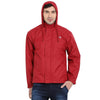 Chilli Pepper Red Waterproof Rainwear Jacket - tbase