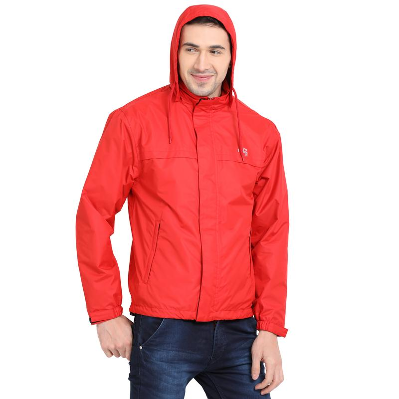 Molten Lava Waterproof Rainwear Jacket - tbase