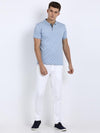 t-base men's white linen look slim tapered chinos