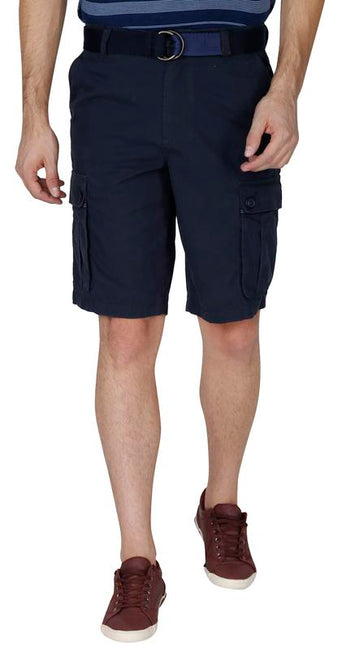 Cargo shorts [at the knee]