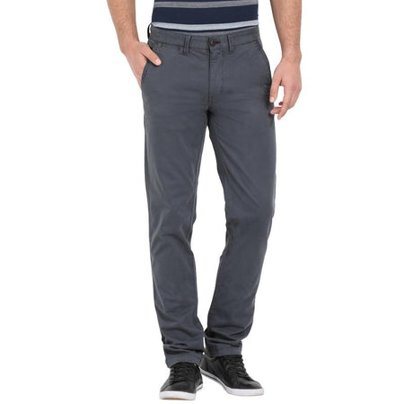 t-base men's grey tapered fit chinos