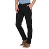 t-base men's black slim fit chinos