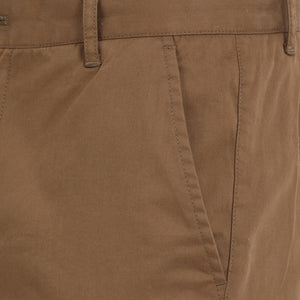t-base men's brown slim fit chinos