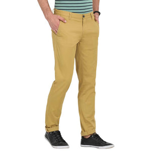 t-base men's khaki tapered fit chinos