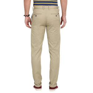 t-base men's beige tapered fit chinos