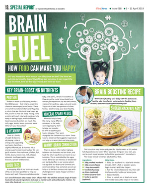 Brain Food and how it can make you happy