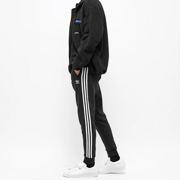 Adidas Originals Three Stripes Joggers (Black)
