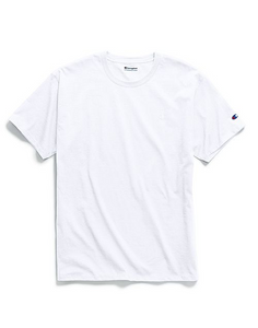 Champion Basic Tee with Tonal Logo (White)
