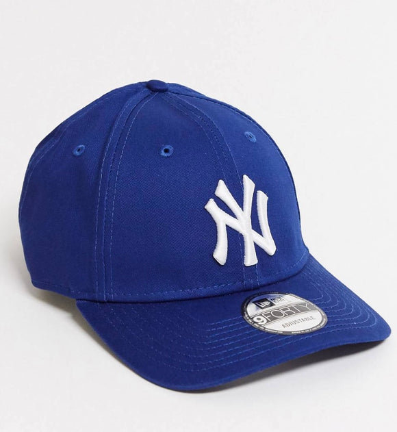 New Era NY 9Forty Baseball Adjustable Cap (Royal Blue)