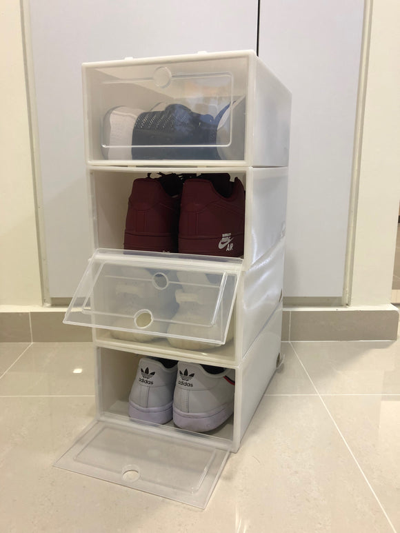 Sneakers Display Box (White)