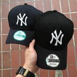 New Era NY 9Forty Baseball Adjustable Cap(Dark Navy)