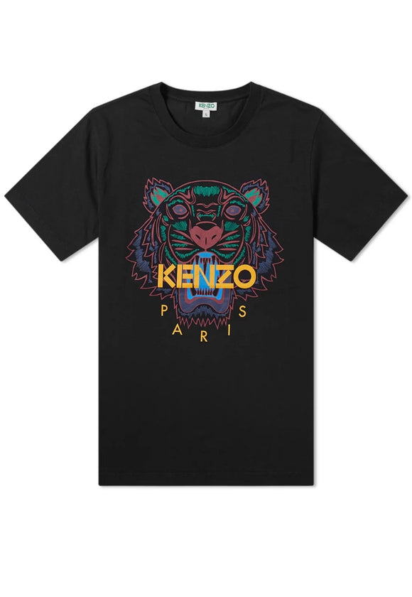 Kenzo Red Tiger Tee (Black)