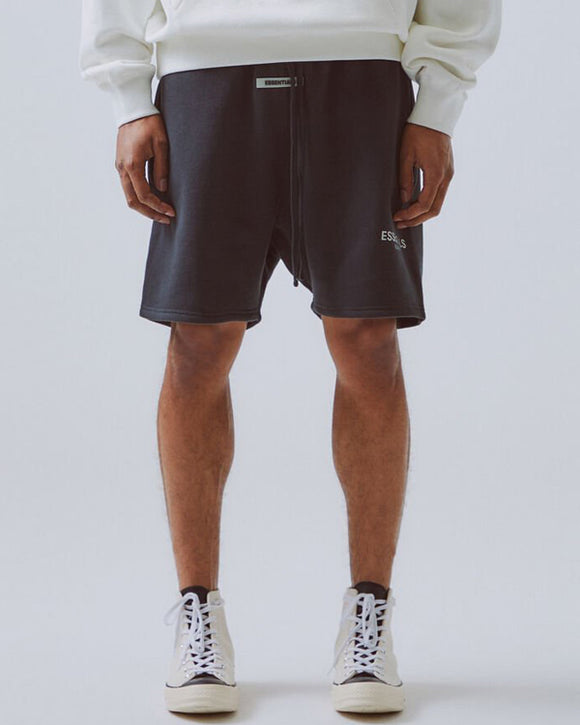 Fear of God Essentials 3M Reflective Sweatshorts (Black)
