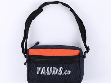 Yauds.co ONV Pouch Bag (Orange/Navy)