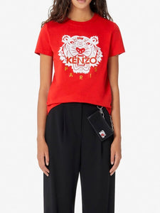 Kenzo Women's Tiger Tee (Red)
