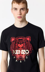 Kenzo Red/Gold Tiger Tee (Black)
