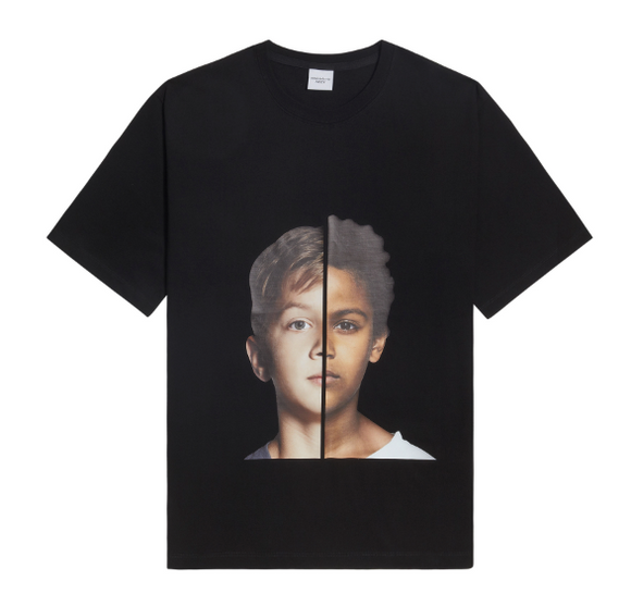 ADLV Baby Boy Face Two Face Tee (Black)