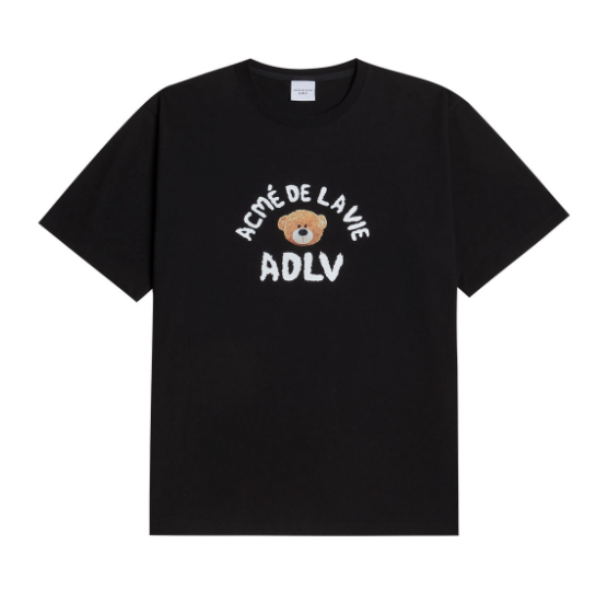 ADLV Teddy Bear Tee (Black)