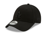 New Era LA 9Forty Baseball Adjustable Cap(Black on Black)