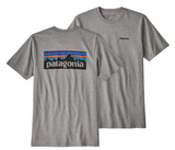 Patagonia P-6 Responsibili-Tee (Gravel Heather)