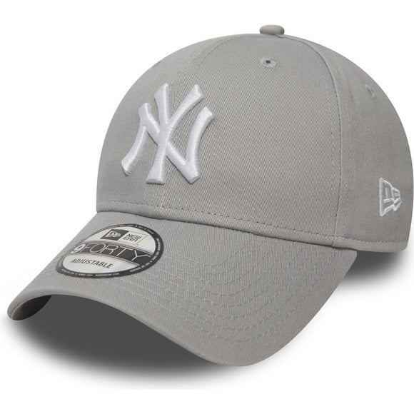 New Era NY 9Forty Baseball Adjustable Cap(Grey)