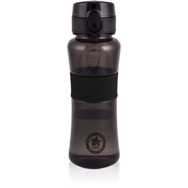 Ion8 Leak Proof Sports Water Bottle, 550ml / 20oz, Black - Leakproof.co.uk