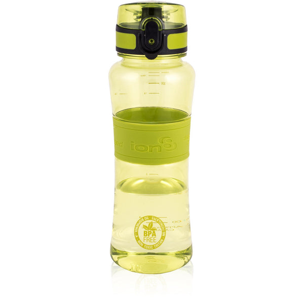 Ion8 Leak Proof Sports Water Bottle, 550ml / 20oz, Green - Leakproof.co.uk