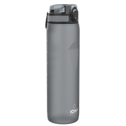 Ion8 Leak Proof 1 Litre Water Bottle, BPA Free, 1000ml / 32oz, Grey