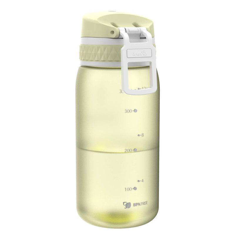 Ion8 Leak Proof Kids' Water Bottle, BPA Free, Lemon, 350ml