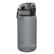 Ion8 Leak Proof Kids Water Bottle, BPA Free, 350ml / 12oz, Grey