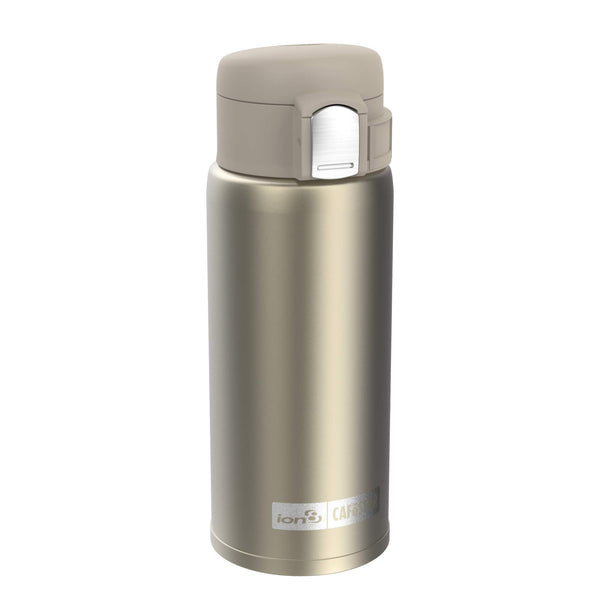 Ion8 CafeStor Reusable Cup, Vacuum Insulated, Gold, 360ml